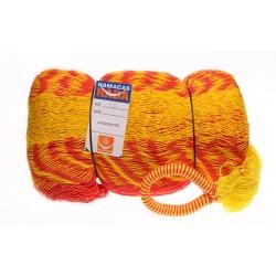 Hamaka TEQUILA - KOMBINOVANÁ, žluto-červeno-oranžová