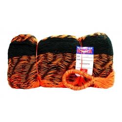 Hamaka / houpací síť PALENQUE (černá, oranžová), kombinovaná