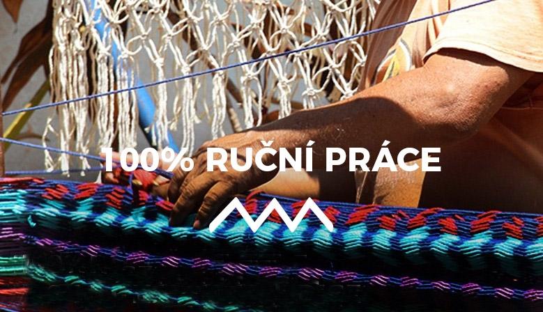 Mexické hamaky - houpací sítě. 100% ruční práce, 700 let tradice